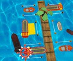 3D  Gemi park etme oyunu
